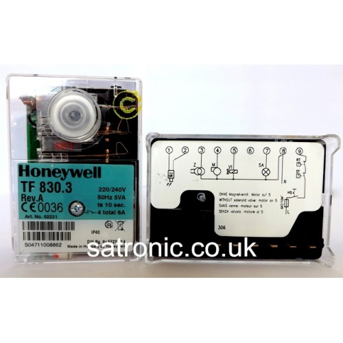 satronic honeywell TF 830.3 220v 500x500 honeywell satronic control box tf 830 3 oil 220 240v satronic control box wiring diagram at webbmarketing.co