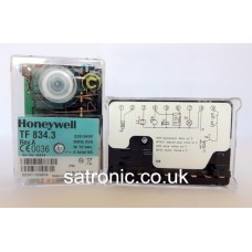 Honeywell / Satronic control box TF 834.3 220v