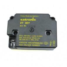 Satronic ZT931 110V Ignition Transformer Single Output 13234U